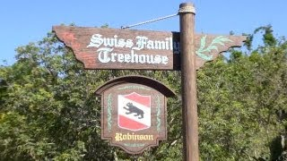 Take a complete walkthrough the Swiss Family Treehouse at the Magic Kingdom. Swiss Family Treehouse is an attraction based...