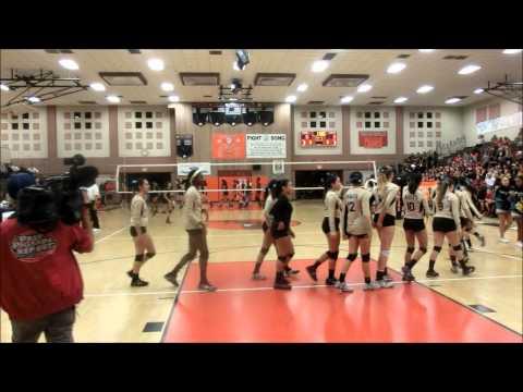 Olympian High School Girls Varsity Volleyball    Southern California State Regionals Dec 1st 2015