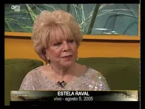 Estela Raval video Trayectoria (Su historia, anécdotas) - 7 Jun. 2012