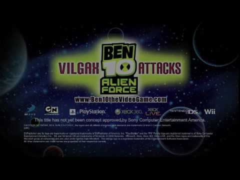 ben 10 alien force vilgax attacks ps2