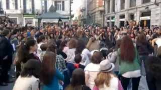Alessandria Italy  city pictures gallery : FLASH MOB in Alessandria - Italy
