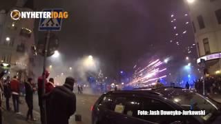 Nowy rok w Szwecji – jak na froncie, poligon sztucznych ogni…