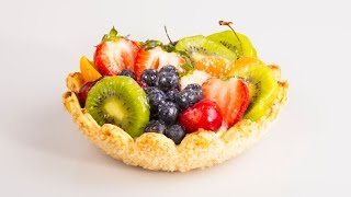 Fruit Tart Recipe Demo | Flower Shell