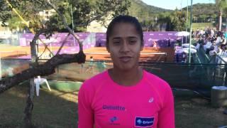 Teliana Pereira estreia nesta terça-feira no Brasil Tennis Cup