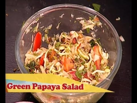 Global Street Food – Thai Green Papaya Salad (Veg)