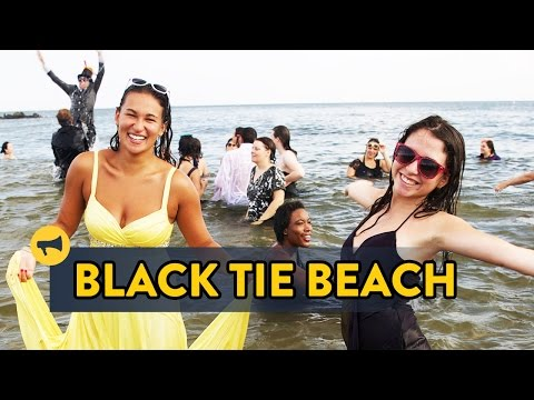 Beach - Hundreds of participants spend a day at the beach in black tie attire. Full Story: http://improveverywhere.com/2014/08/26/black-tie-beach-2014/ SUBSCRIBE: http://bit.ly/iesub Join Us: http://impr...