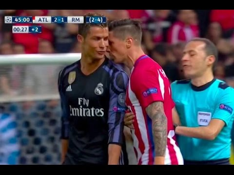 Cristiano Ronaldo & Fernando Torres Angry Chat with eonaldo Angry Momentsach other    & R (видео)