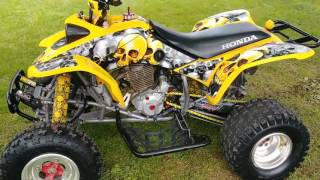 3. 2004 Honda 400ex walk around