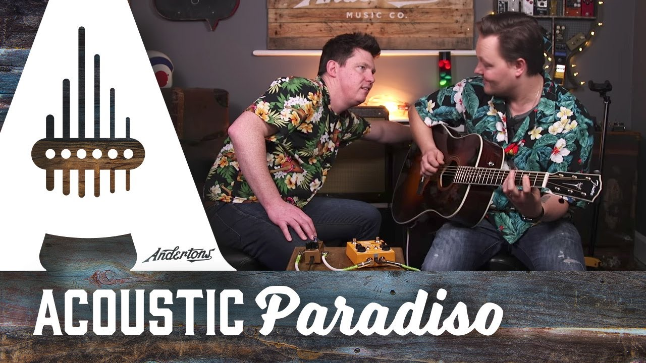 Using Different Amps & Pedals with an Acoustic Guitar!