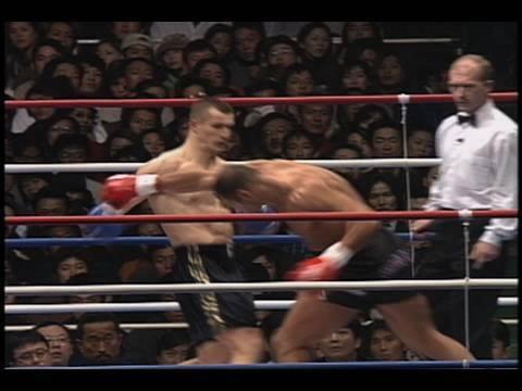 K-1 Sam Greco vs. Mirko CroCop