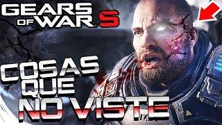 GEARS OF WAR 5 - COSAS QUE NO VISTE DEL NUEVO TRAILER   EASTER EGGS