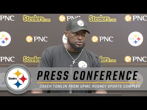 Tomlin on Injuries, Antonio Brown, Week 3 | Pittsburgh Steelers