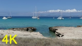 Formentera Spain  city photos gallery : Formentera Spain 4K UHD FZ300