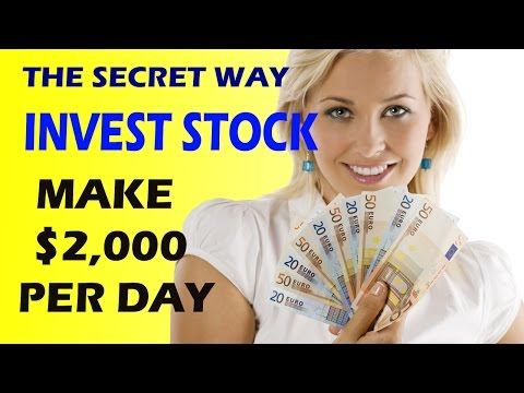 #New How To Invest In Stock - Best Stocks To Invest In And Earn $2000 Per Day
