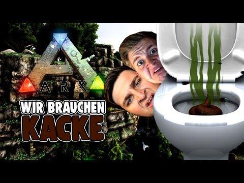 KACKE! Wir brauchen Kacke - ARK Survival Evolved Ragnarok Deutsch German