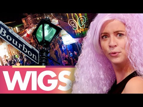 Trying Crazy Wigs in New Orleans! (Beauty Trippin)