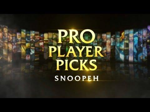 [LoL] Pro Player Pick: Snoopeh Picks Amumu - Rus