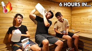 Last One To Leave WORLDS HOTTEST Room Wins $5,500 (IMPOSSIBLE)