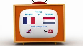Pocoyo português Brasil - 2018 Pocoyo Football Championship: France vs Croatia- final