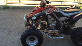 8. 2007 Yamaha Raptor 700 Special Edition Hindle Exhaust