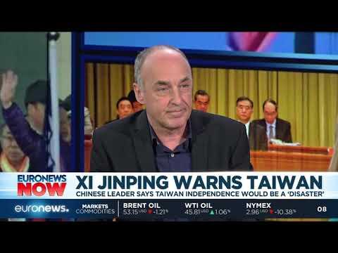 Chinese President Xi Jinping warns Taiwan | #EuronewsNow