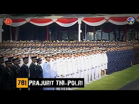 Upacara Prasetya Perwira Remaja (PRASPA) TNI-Polri Tahun 2019