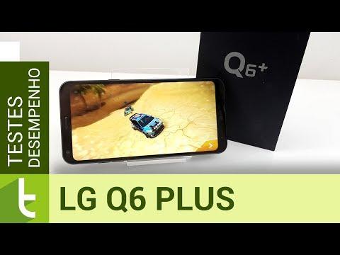 Desempenho LG Q6 Plus  Teste de velocidade oficial do TudoCelular
