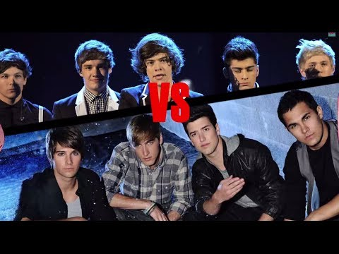 One Direction Vs. Big Time Rush / TKM
