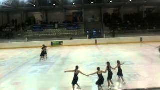 Ice Angels gara Trento 2011