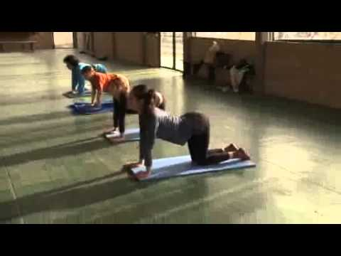 Clases de yoga en los Campos de Deportes de San Isidro