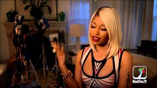 The Other Woman interview w/ Nicki Minaj