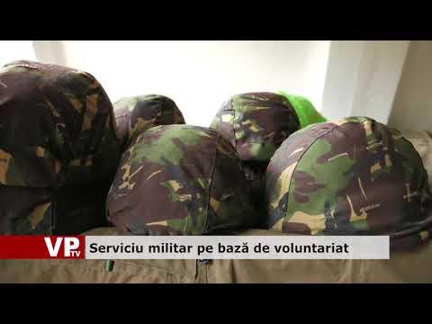 Serviciu militar pe bază de voluntariat
