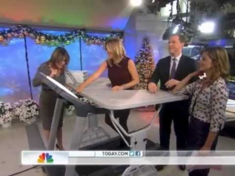 TrekDesk Treadmill Desk Featured on the Today Show
