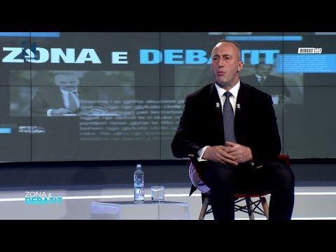 Zona e Debatit - Ramush Haradinaj - 21.11.2017 - Klan Kosova