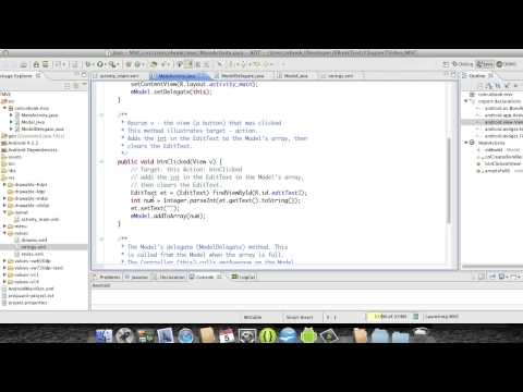 Android Development Course  | Chapter 22  |  MVC | Eduonix
