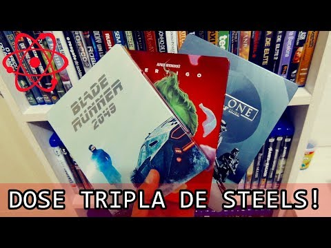 [BLU-RAY] DOSE TRIPLA: BLADE RUNNER 2049, VERTIGO E ROGUE ONE!