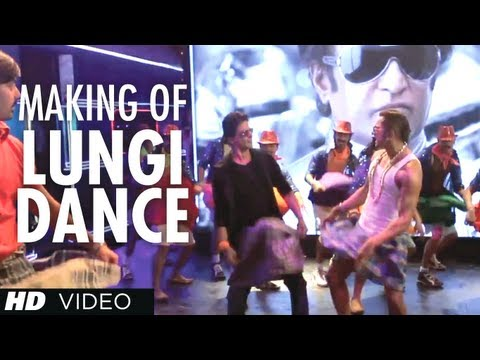 Lungi Dance Song Making (The Thalaiva Tribute) Feat. Honey Singh, Shahrukh Khan, Deepika Padukone
