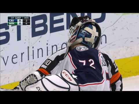 Video: Gotta See It: Bobrovsky robs Parise from point blank range with spectacular glove save