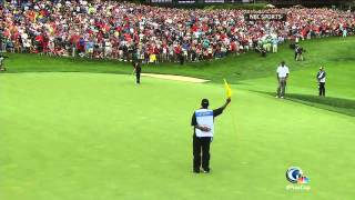 Dublin (OH) United States  city photo : Tiger Gets Clinching Point As USA Wins Presidents Cup In DUBLIN, Ohio