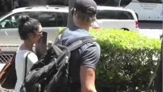 WATCH: Vanessa Hudgens Hides from The Paparazzi After Landing at LAX