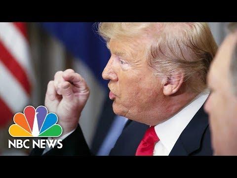President Donald Trump Criticizes Germany At NATO Breakfast   NBC News