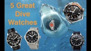 5 Great Dive Watches at Different Price Points!