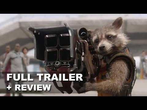 review trailer - Guardians of the Galaxy debuts its official trailer 2 for 2014! Watch it today with a trailer review! http://bit.ly/subscribeBTT Guardians of the Galaxy debu...