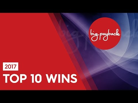 Top 10 BEST SLOT WINS – 2017 Edition – CRAZY BIG WINS!