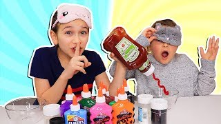 Video Blindfolded Slime PRANK Challenge!!! **cheating**  | JKrew MP3, 3GP, MP4, WEBM, AVI, FLV Juni 2019