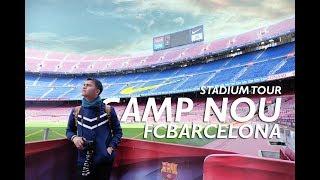 Download Video BARCELONA STADIUM MEWAH !! (CampNou Stadium Tour) #TRAVELVLOG #5 MP3 3GP MP4