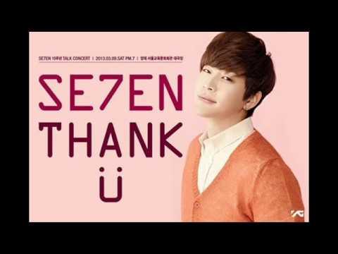SE7EN「ありがとう」