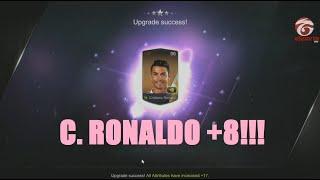 FIFA Online 3 - CRISTIANO RONALDO +8!!!!!!!!!!!!, fifa online 3, fo3, video fifa online 3