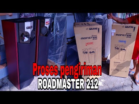 ROAD MASTER MONSTER 212,,,Proses Pengiriman+test Sound & Karaoke 🎤🎤