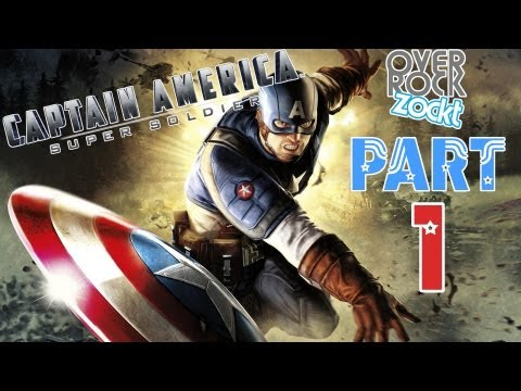 captain america super soldier wii part 1